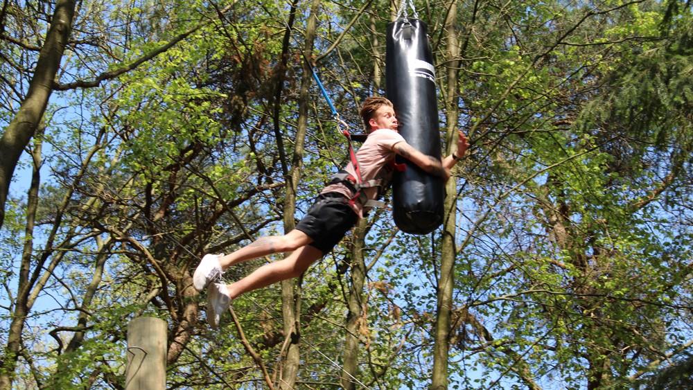 Pamper Jump - spring naar de boksbal!