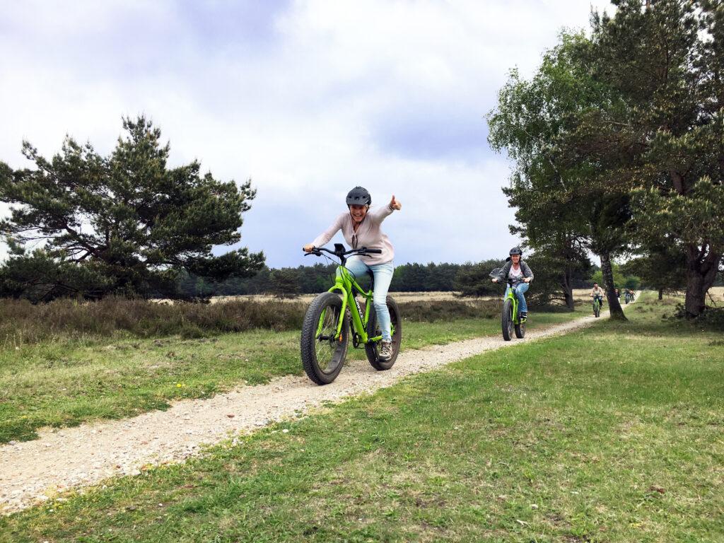 E-mountainbikes zijn cool!
